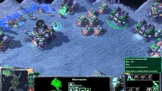 Starcraft 2 PC Gameplay  Terran vs. Zerg I.A. - 1440x900 Ati Radeon 5770 1 Gb  - Win 7 64 Bits