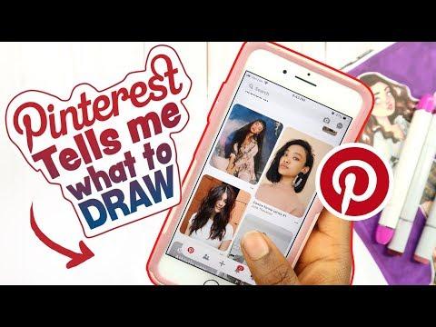 Pinterest Tells Me What To Draw Art Challenge