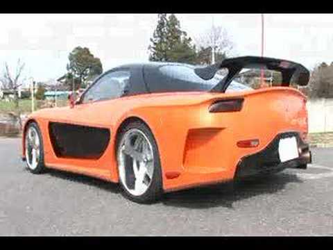 mazda rx7 fast and furious body kit. mazda rx7 fast and furious body kit t