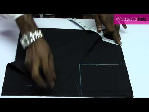 Back Open Blouse   1  Marking & Cutting thumbnail