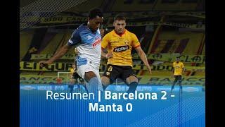 Resumen: Barcelona 2 - Manta 0