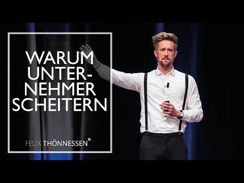 Warum Unternehmer scheitern - sevDesk Emfehlung | felixthoennessen.de