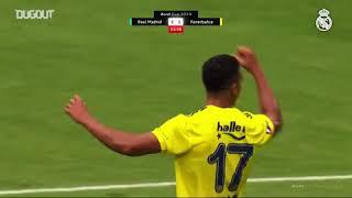 Audi Kupası Real Madrid 5 3 Fenerbahçe   Maçın özeti
