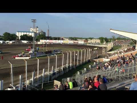 June 14 River Cities Speedway Late model Heat 2