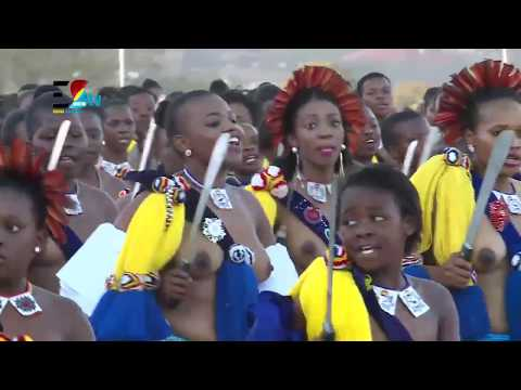 Buhle Betfu || Umhlanga Reed Dance 2018 || Royal Eswatini Police thumbnail