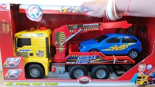 SIMBA DICKIE TOY TOW TRUCK FOR CAR RECOVERY WITH AIR POWERED CRANE ARM