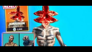 FORTNITE DEMOGORGON SKIN GIVEAWAY!