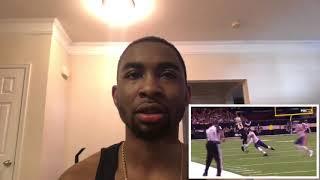 "Reaction to Alvin Kamara- ""Slippery"" Rookie Highlights HD"