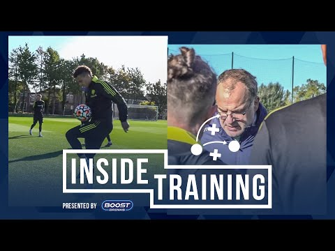 Focus, hard work, tricks, and flicks at Thorp Arch | Inside Training