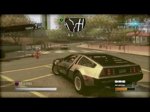 Driver: San Francisco - DeLorean Gameplay (PC, PS3, Xbox 360, Wii)