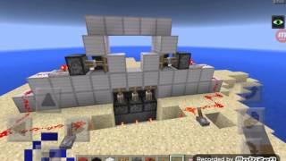 Minecraft pocketedition fallout shelter #6 vault door