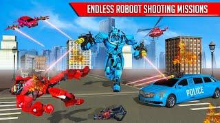 Limo Robot Car Transformation: Car Robot Games Gamers woche Gameplay screenshot 2