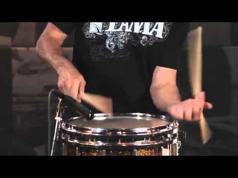 Tama Marching Snare featuring Roger Carter