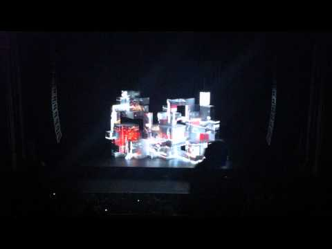 Amon Tobin ISAM Live at the Warfield, SF (Video 2)