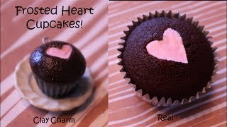 2 in 1: How to Make Heart Frosted Cupcakes!