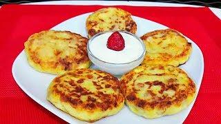 Сырники с Творогом и Тыквой Безумно Вкусные и Нежные Сырники Простой Рецепт  Farmer Cheese Pancakes
