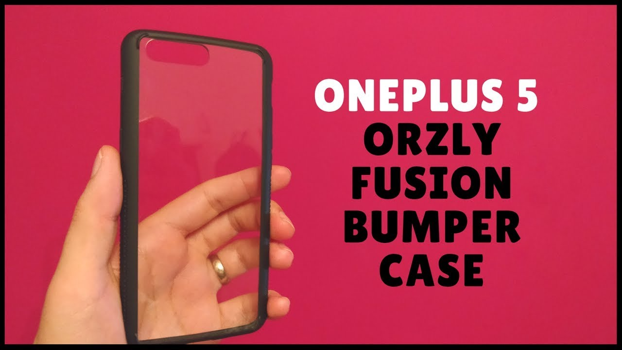 huge selection of b70aa f4f2f OnePlus 5 Orzly Fusion Bumper Case [MY FAV]