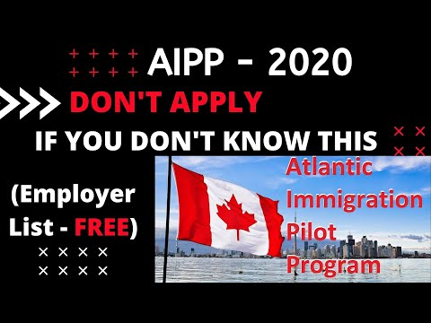Fastest And The Easiest Way To Immigrate To Canada, Full Reality Of AIPP - 2020 Immigration Process.
