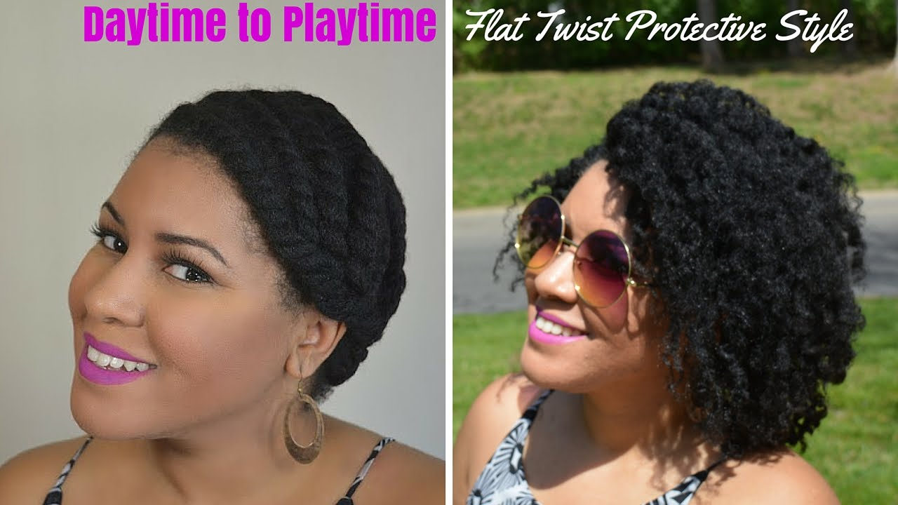 grow hair without protective styles flat twist protective style work week to weekend 3779