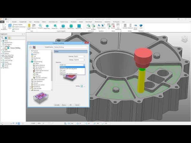 2D Machining Improvements - PowerMill 2018