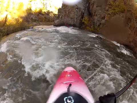 Kayaking Rapid Creek SD