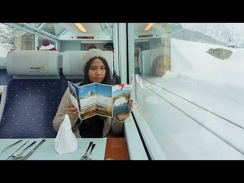 Winter Rail Travel in Europe on 7 Day Interrail / Eurail Pass