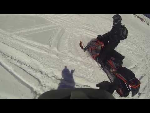 Snowmobile avalanche. Life can change in a minute.