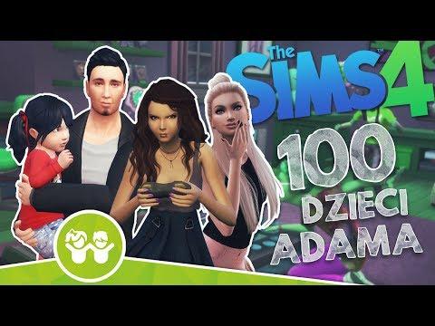 The Sims 4 Pl : Wyzwanie 100 dzieci Adama #106 - Urodziny trojaczków i dzień Taty