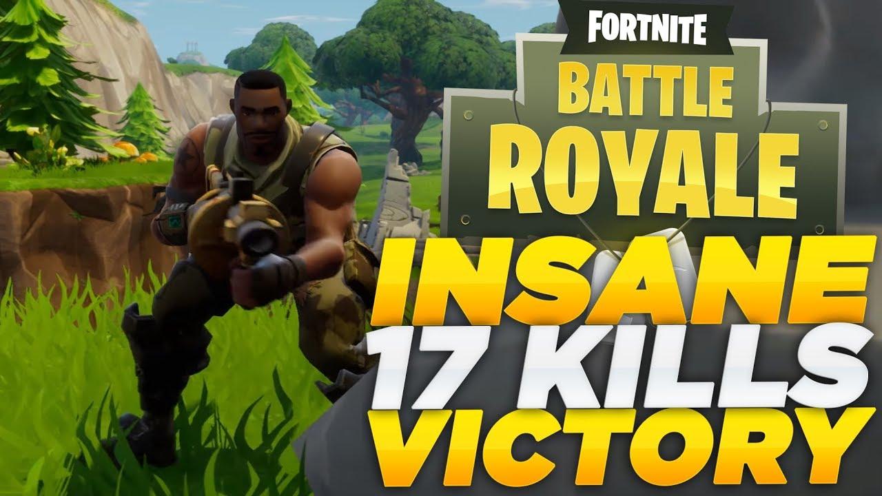 Kills Win Highlights Fortnite Battle Royale