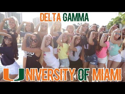 University of Miami : Delta Gamma 2015 Recruitment