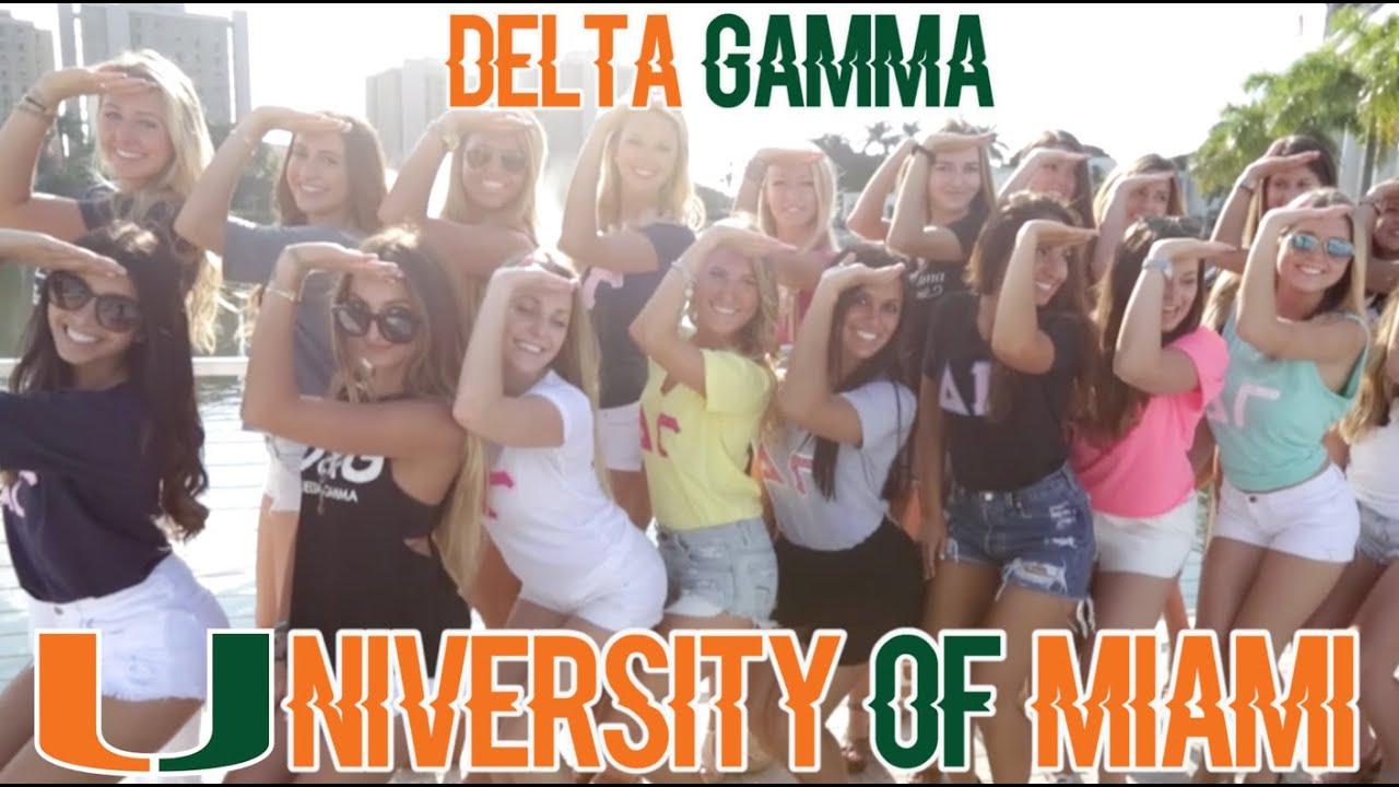 University of Miami : Delta Gamma 2015 Recruitment - YouTube