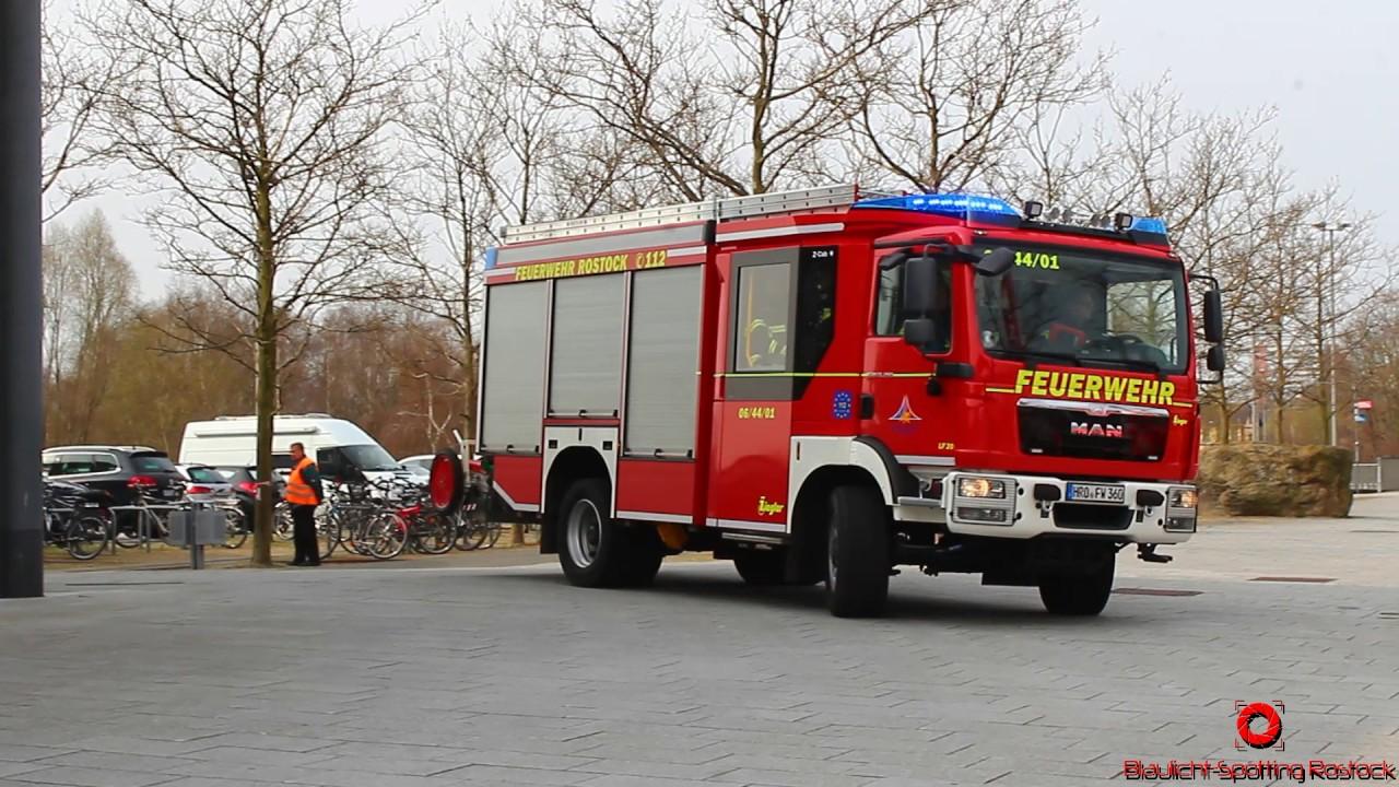 Feuerwehr Rostock Einsatz Heute