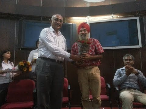 Lecture at University Business School, PU, Chandigarh