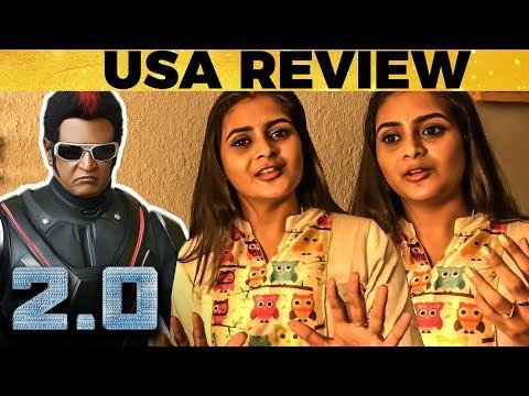 2.0 Review from USA by SunMusic VJ Divya   Rajinikanth   Shankar
