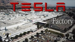 Tesla Factory - Fremont California tour
