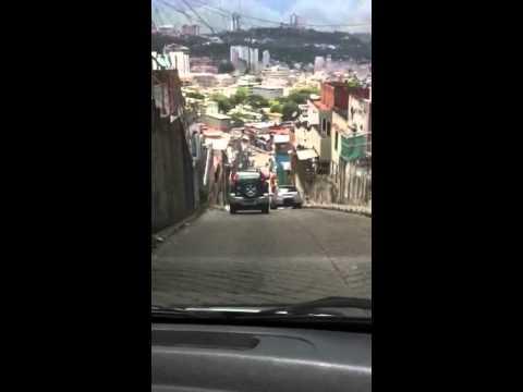 Bajando el valle de Caracas