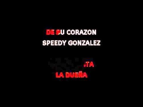 Speedy Gonzales - Karaoke