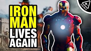 Iron Man is Coming Back to the Marvel Cinematic Universe?!? (Nerdist News w/ Markeia McCarty)
