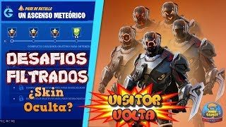 """CHALLENGED CHALLENGES """"A METHEICAL ASCENSO"""" *SKIN HIDDEN* SEASON X - FORTNITE"""