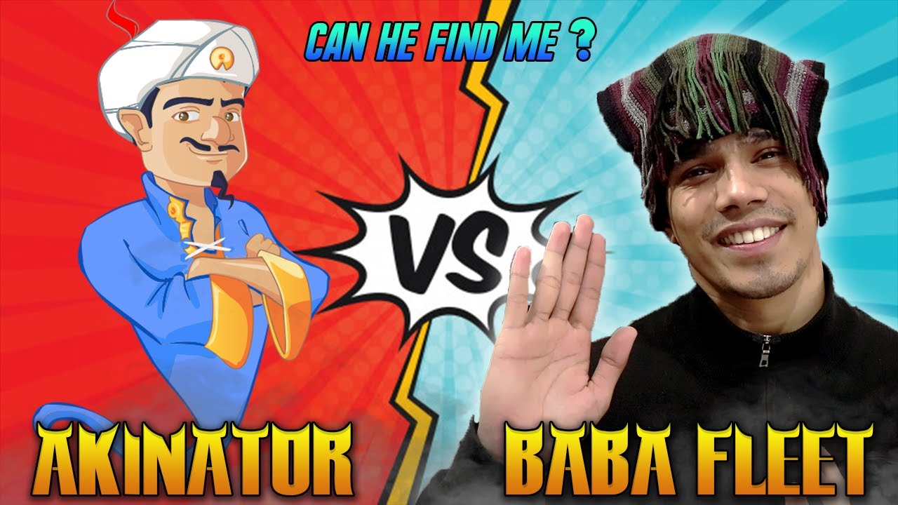Download Can He Find Me ? | Akinator Vs Baba Fleet