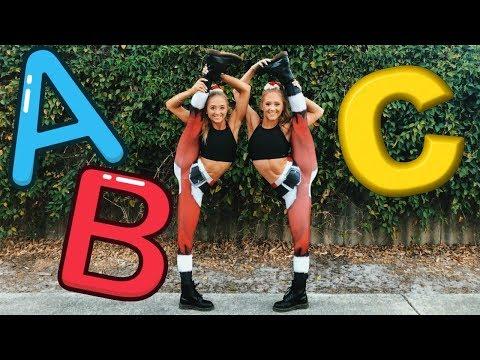 ABC GYMNASTICS Challenge! | The Rybka Twins