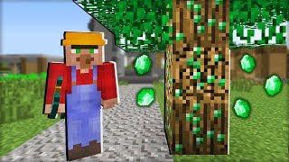 ПОЧЕМУ Я НАШЁЛ ЭТИ ИЗУМРУДЫ В ДЕРЕВЕ В МАЙНКРАФТ 100 ТРОЛЛИНГ ЛОВУШКА Minecraft