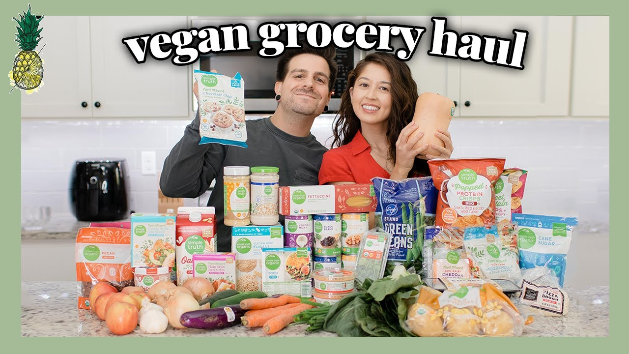HUGE VEGAN GROCERY HAUL (with recipe ideas for every item)