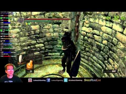 Dark Souls Dragon Punch Only run
