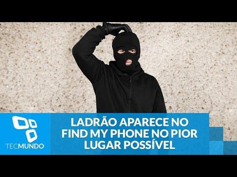 Ladrão Aparece No Find My Phone No Pior Lugar Possível