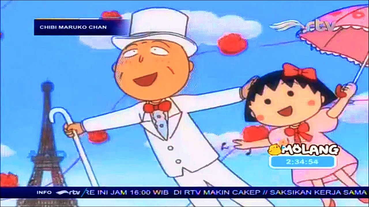 Chibi Maruko Chan - MAKANAN LEZAT UNTUK KAKEK Bahasa Indonesia Maruko Terbaru 2020 #ChocolateCartoon
