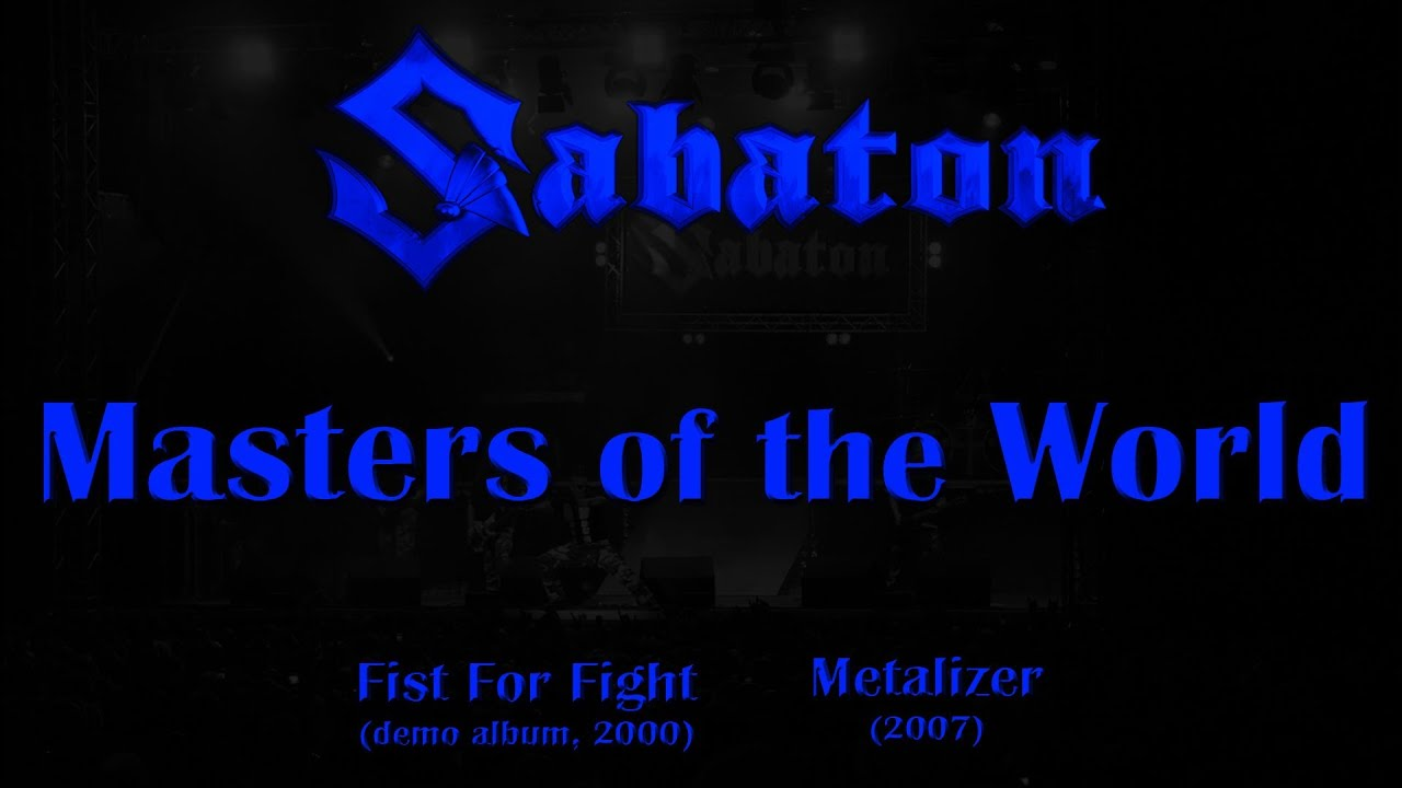 Download Sabaton - Masters of the World (Lyrics English & Deutsch)