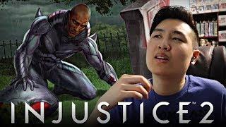Injustice 2 - Black Manta Arcade Ladder Ending Playthrough REACTION