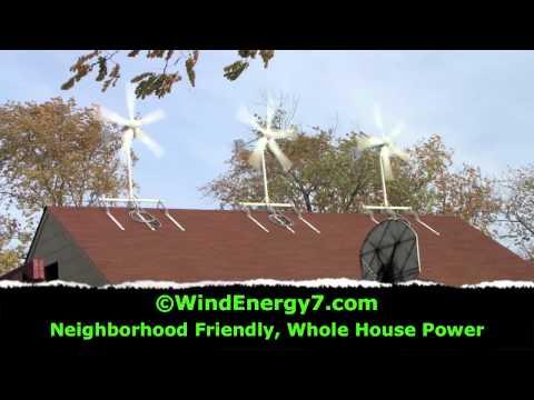 Wind Turbine - Rooftop