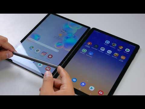 СРАВНЕНИЕ | Samsung Galaxy Tab S4 Vs Tab S6